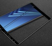 Galaxy A8 Plus 2018 Ekranı Tam Kaplayan Cam Koruyu...