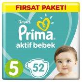Prima Bebek Bezi 5 Beden Junior Fırsat Paketi 52 Adet