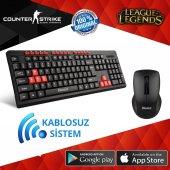 Kablosuz Klavye+mouse Seti Tigoes Kw81 Yüksek Kalite Ürün