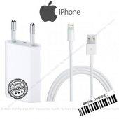 Apple İphone 7, 7 Plus Orjinal Şarj Aleti Cihazı + Usb Şarj Kablo