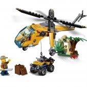 Lego City Orman Kargo Helikopteri 60158 201 Parça
