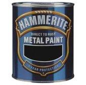 Hammerite Direkt Pas Üstü Çekiçlenmiş Metal Boyası Siyah 0.75 Lt