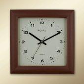 Regal 151 Rı Huş Kare Ahşap Duvar Saatı