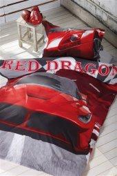 Soley Tek Kişilik Uyku Seti Red Dragon