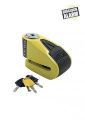 Auvray Motosiklet Kilit Alarm Dısc Lock B Lock 06 Yellow Black