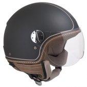 Açık Motosiklet Kaskı Cgm 109v Santa Monıca Siyah Renk