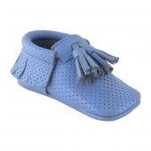 Corcik Makosen Bebek Ayakkabı Mavi Cv 150