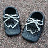 Navaho Makosen Bebek Ayakkabı Siyah Cv 176