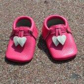 Kalpli Makosen Bebek Ayakkabı Fuşya Cv 212