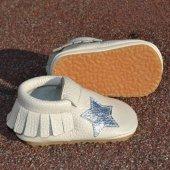 Yıldız Makosen Tabanlı Bebek Ayakkabı Bej Cv 295