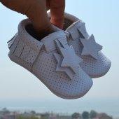 Yıldız Makosen Bebek Ayakkabı Beyaz Cv 300