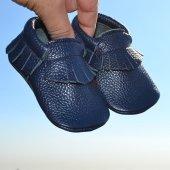 Klasik Makosen Bebek Ayakkabı Lacivert Cv 389