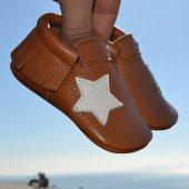 Yıldız Makosen Bebek Ayakkabı Taba Cv 390