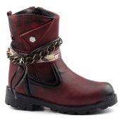 Elifsu 1879 Günlük Termo Taban Fermuarlı Kız Çocuk Bot Ayakkabı
