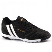 Ayakland 134 Siyah Halısaha & Krampon Çim Erkek Çocuk Futbol Ayakkabı