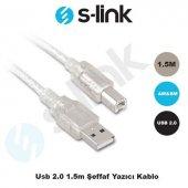 S Lınk 1.5 Metre Usb 2.0 Yazıcı Kablosu