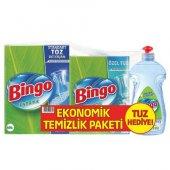 Bingo Üçlü Set Toz Tuz Par. Bulaşık Deterjanı