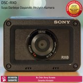 Sony Dsc Rx0 Ultra Kompak Suya Darbeye Dayanıklı Aksiyon Kamera