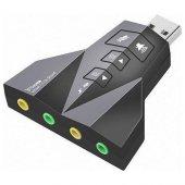 S Link Hy U710 Usb 2.0 Ses Kartı 7.1 Dual Channel Hy U710