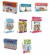 4.sınıf 5 Renk Tüm Hikayeler Kütüphane Setleri