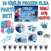 Elsa Frozen Karlar Lkesi Do Um G N Set Afi Hediyeli 24 Ki İ
