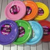 çeşitli Renkli Plastik Sofra Seti