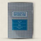 Sipariş Fişi Otokopili Altınyıldız Marka 125*95 Mm 50 Sayfa
