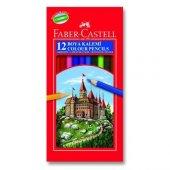 Faber Castell 12li Uzun Tam Boy Kuru Boya Kutu