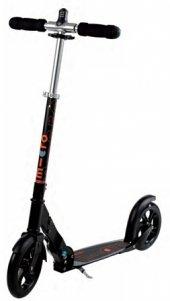 Black Interlock Scooter