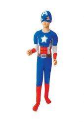 çocuk Kaptan Amerika Kostümü