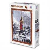 Ks Games 1000 Parça Puzzle Galata Tuval