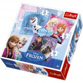 Trefl 20+36+50 3 Parça Frozen Puzzle