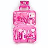 Barbie Doktor Seti 9 Parça Işıklı Çantalı