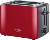Bosch Tat6a114 Comfortline Ekmek Kızartma Makinesi Kırmızı