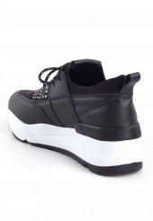 Veleria Siyah Taşlı Bayan Spor Ayakkabı
