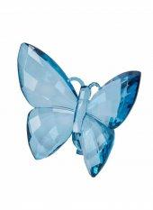 Dekoratif Kelebek Mavi