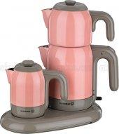 Korkmaz A353 Mia Cay Kahve Seti Pembe