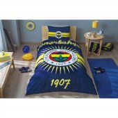 Taç Lisanslı Tek Kişilik Nevresim Takımı Fenerbahçe Parlayan Güneş