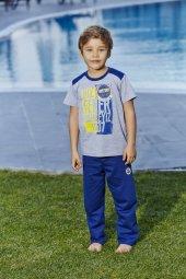 Roly Poly 9107 Lisanslı Fenerbahçe Pijama Takımı(3 6)yaş)
