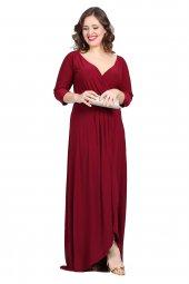 Büyük Beden Abiye Elbise Kl56