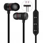 Sport Mıknatıslı Mikrofonlu Kablosuz Bluetooth Kulaklık Sport 4.1