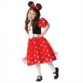 Minnie Lüks Çocuk Kostüm 5 6 Yaş