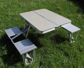 Alüminyum Katlanır Piknik Ve Kamp Masası