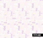 Decokids 1111 02 Pisi Yazılı Çocuk Odası Duvar Kağıdı