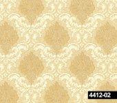 Crown 4412 02 Dore Damask Desenli Duvar Kağıdı