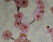 Lamos 6607 01 Vinil Çiçek Desenli Duvar Kağıdı