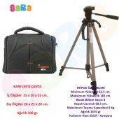 Canon 100d Fotoğraf Makinesi İçin 165cm Tripod + S...