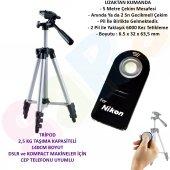 Nikon 135cm Pro Tripod + Ml L3 Kumanda D50 D60 D70...
