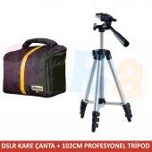 Nikon 102cm Tripod + Omuz Çantası D5100 D5000 D340...