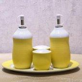 Vitale Sarı Yağlık Sirkelik Bx0013 Yağdanlık Sirke Kabı